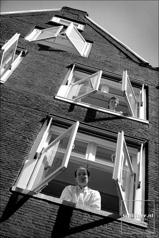 Nederland, Amsterdam, 12 mei 2000.
