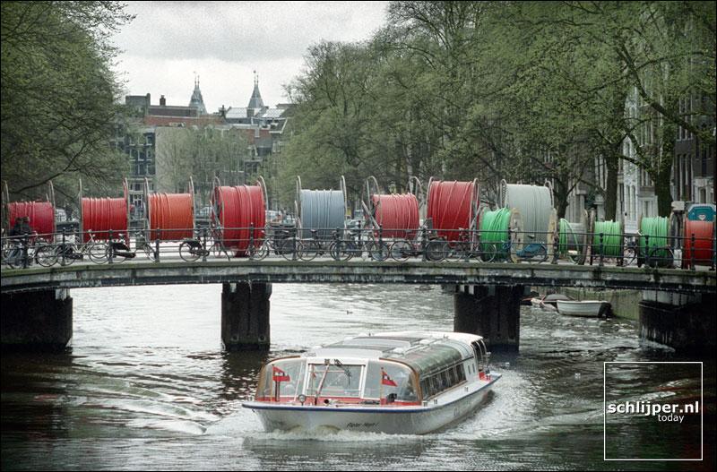 Nederland, Amsterdam, 10 april 2001.