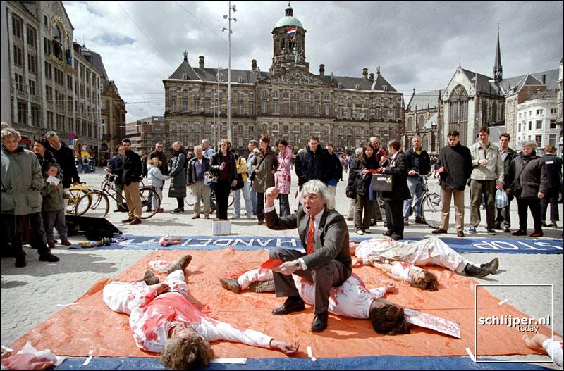 Nederland, Amsterdam, 5 mei 2001.