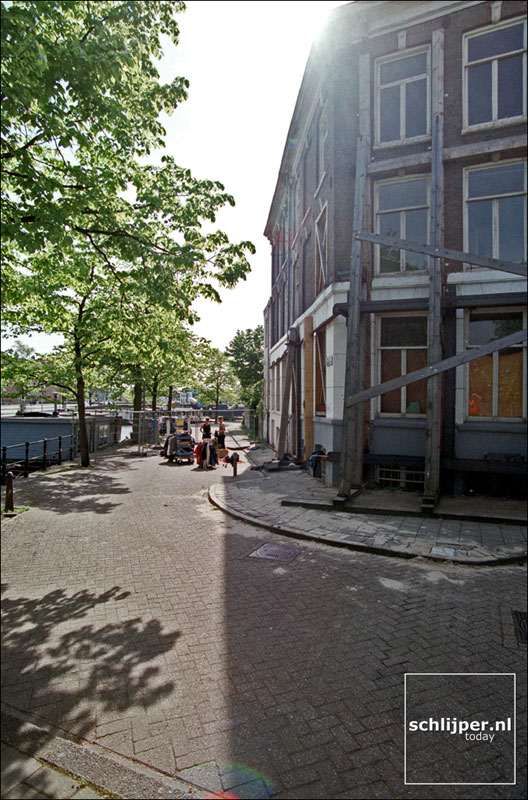 Nederland, Amsterdam, 13 mei 2001.