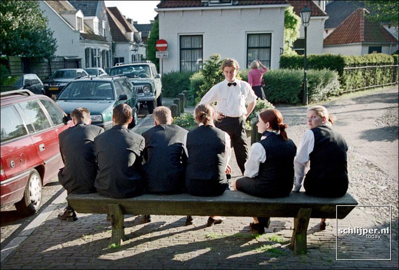 Nederland, Naarden, 23 mei 2001.