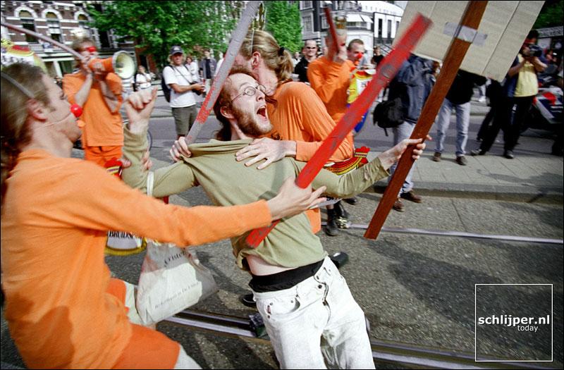 Nederland, Amsterdam, 26 mei 2001.