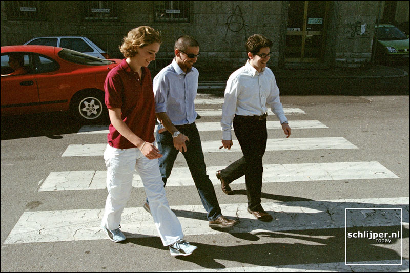 Italie, Busto Arsizio, 5 juni 2001.