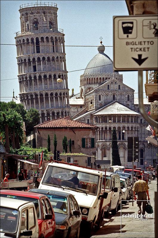 Italie, Pisa, 7 juni 2001.