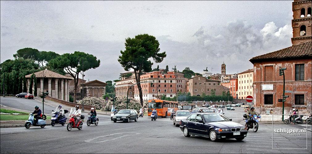Italie, Rome, 13 juni 2001.