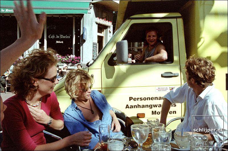 Nederland, Amsterdam, 30 juni 2001.