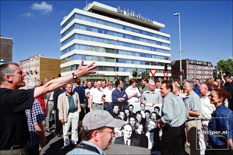 Nederland, Amsterdam, 3 juli 2001.
