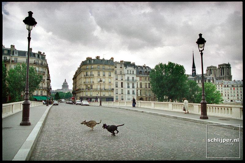 Frankrijk, Parijs, 19 juli 2001.