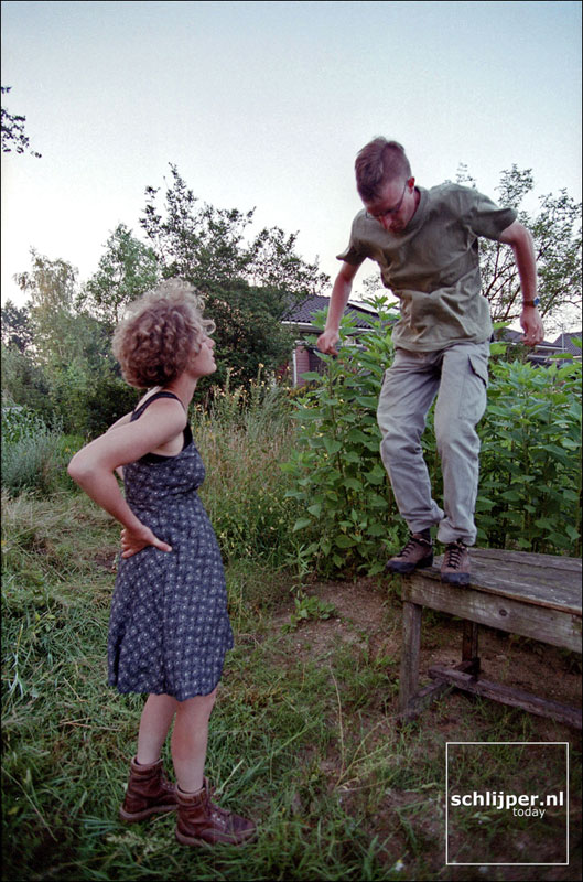 Nederland, Wageningen, 28 juli 2001.