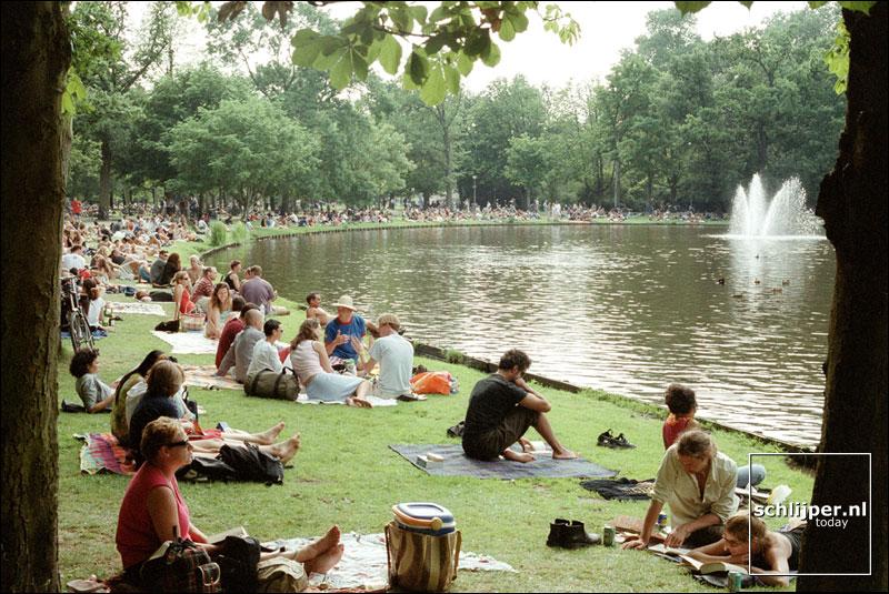 Nederland, Amsterdam, 29 juli 2001.