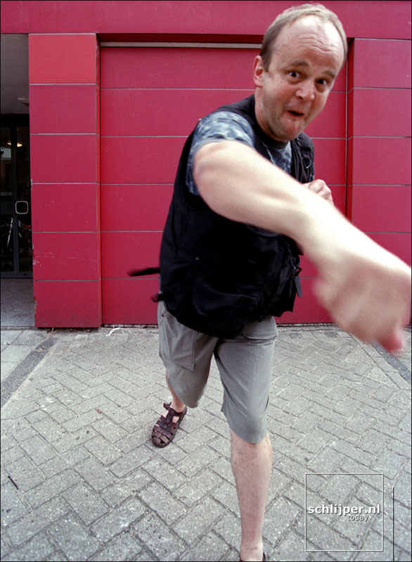 Nederland, Amsterdam, 30 juli 2001.