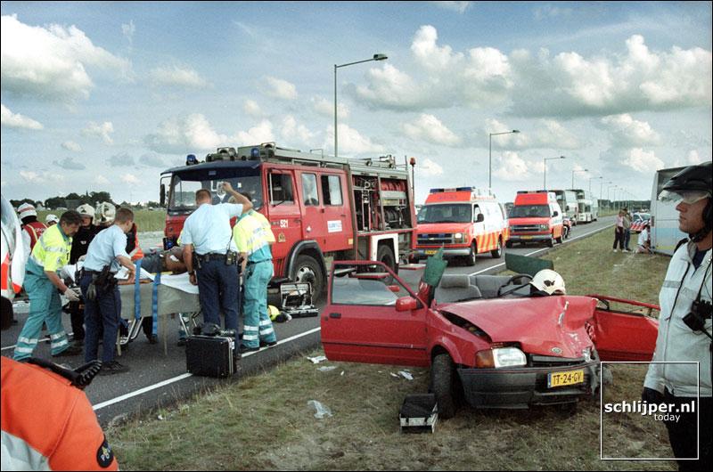 Nederland, Spaarnwoude, 4 augustus 2001.