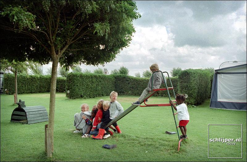 Nederland, Wogmeer, 8 augustus 2001.