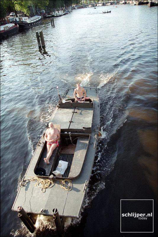 Nederland, Amsterdam, 14 augustus 2001.