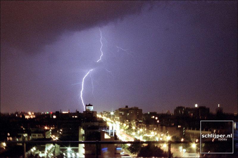Nederland, Amsterdam, 18 augustus 2001.