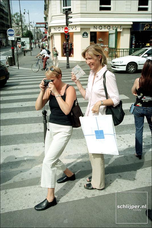 Frankrijk, Parijs, 26 augustus 2001.
