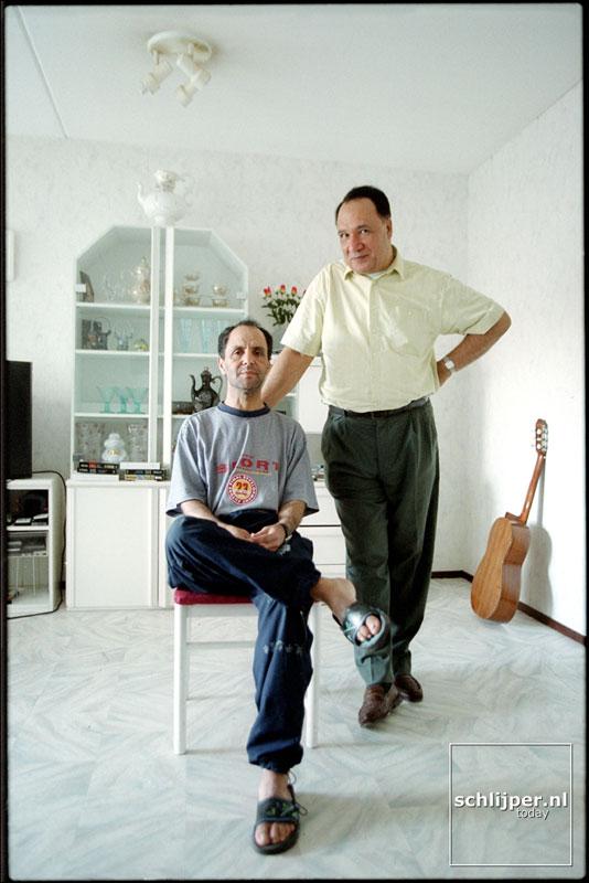 Nederland, Amsterdam, 6 september 2001.