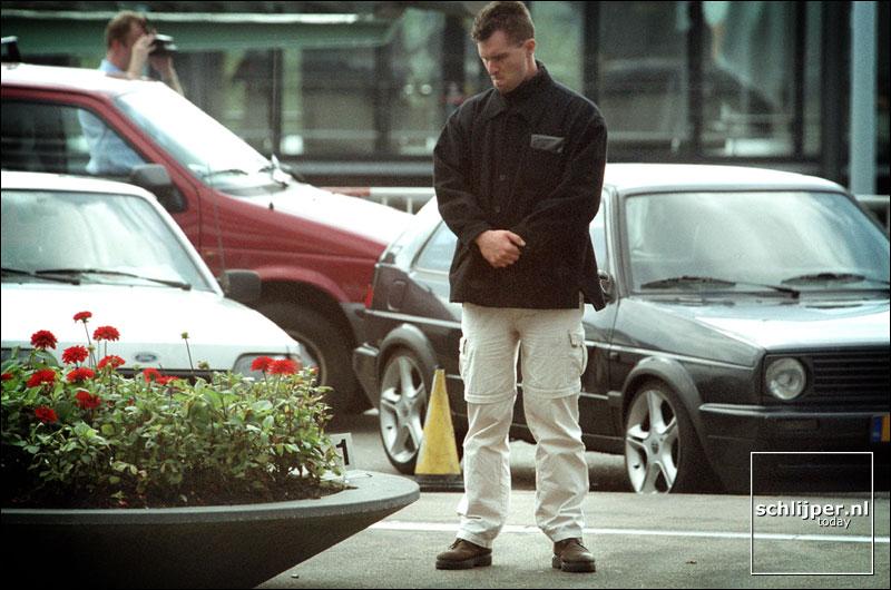 Nederland, Schiphol, 21 september 2001.