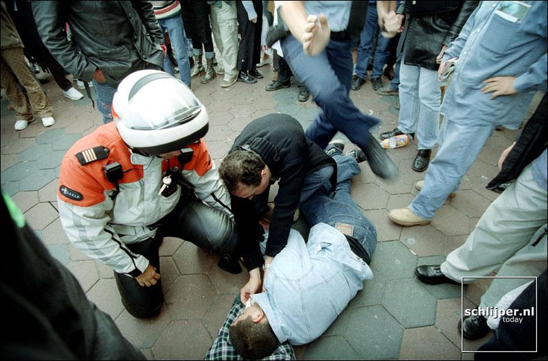 Nederland, Amsterdam, 23 september 2001.
