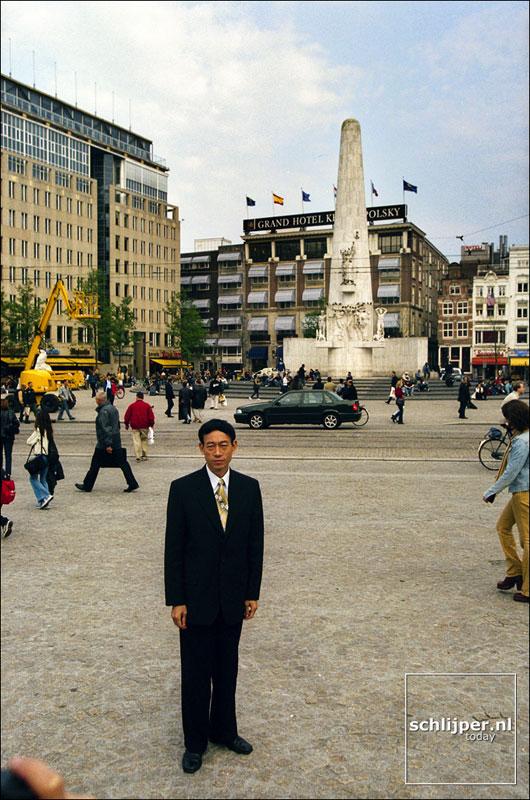 Nederland, Amsterdam, 24 september 2001.