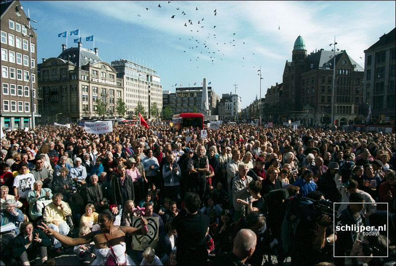 Nederland, Amsterdam, 30 september 2001.