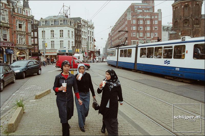 Nederland, Amsterdam, 14 oktober 2001.