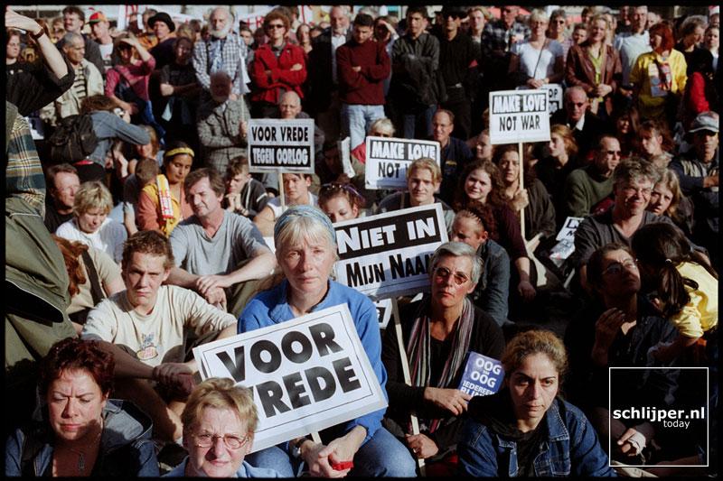 Nederland, Amsterdam, 20 oktober 2001.