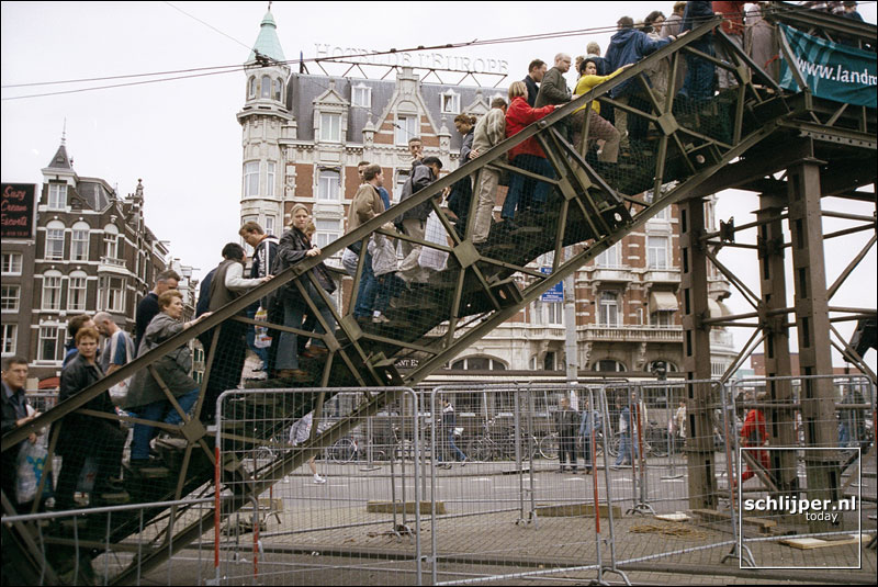 Nederland, Amsterdam, 21 oktober 2001.