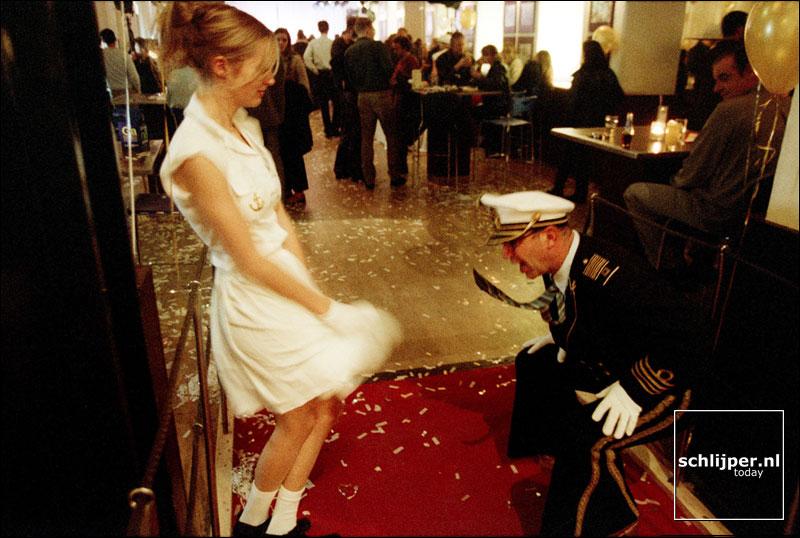 Nederland, Amsterdam, 10 november 2001.