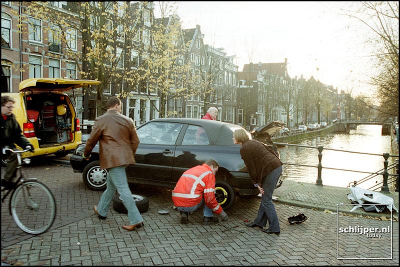 Nederland, Amsterdam, 26 november 2001