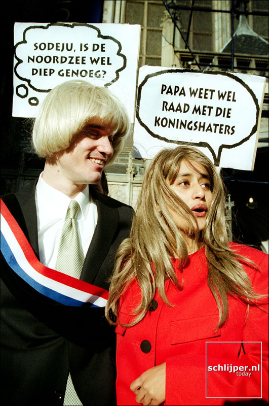 Nederland, Amsterdam, 6 december 2001.