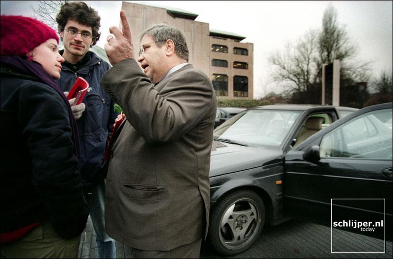 Belgie, Brussel, 12 december 2001.