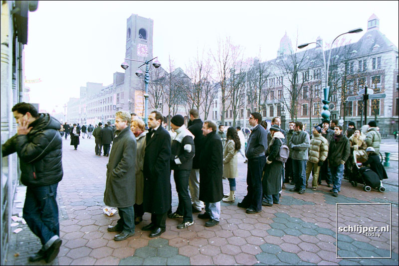 Nederland,  Amsterdam, 1 januari 2002