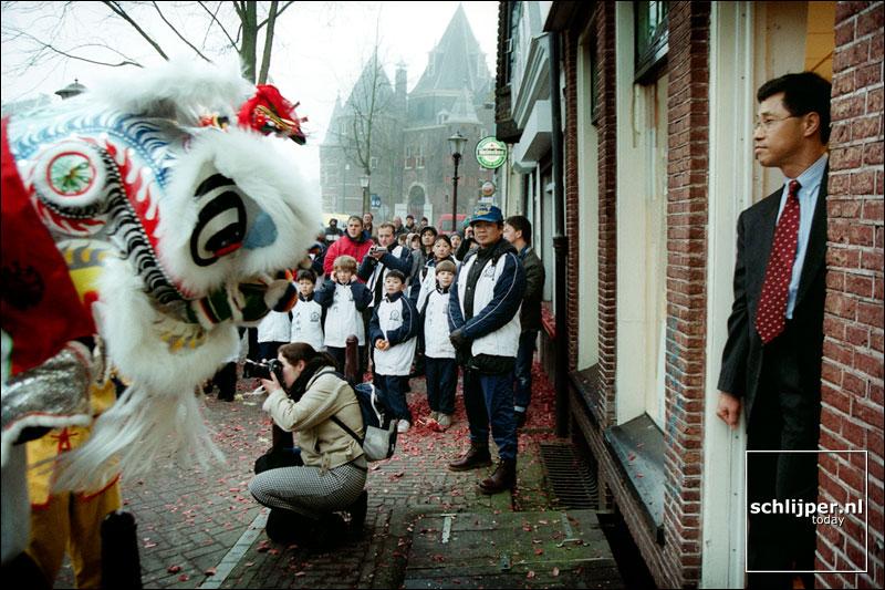 Nederland, Amsterdam, 2 januari 2002
