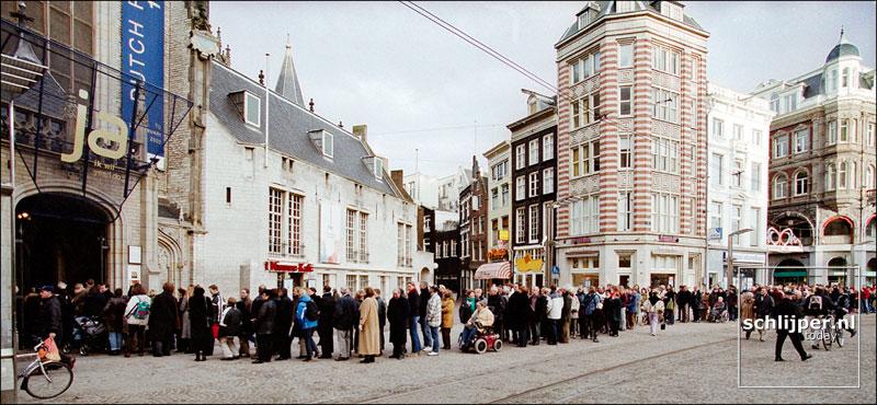Nederland, Amsterdam, 13 januari 2002