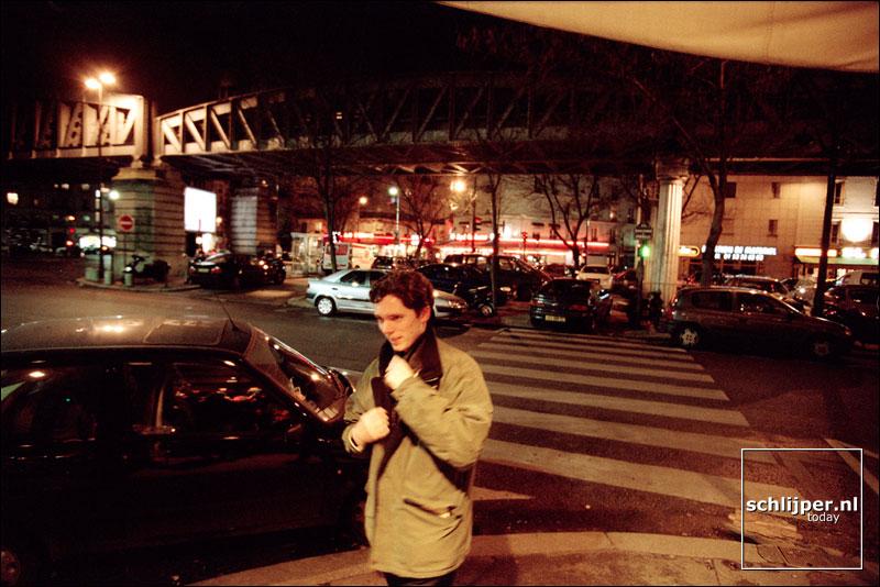 Frankrijk, Parijs, 24 januari 2002