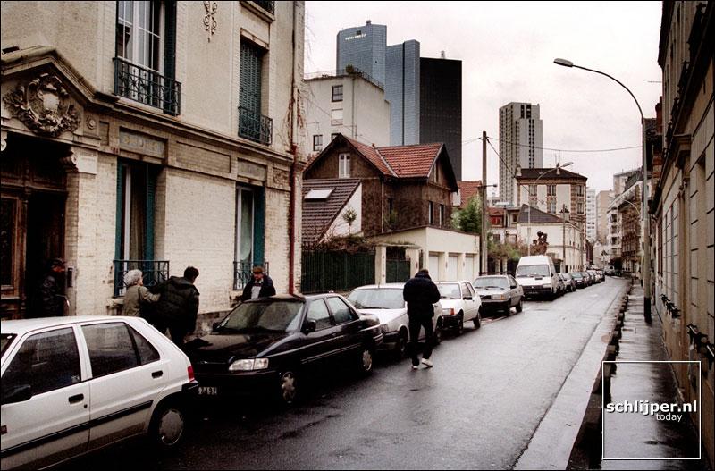 Frankrijk, Courbevoie, 27 januari 2002