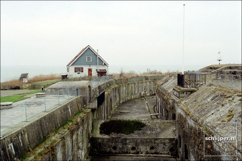 Nederland, Pampus, 30 januari 2002