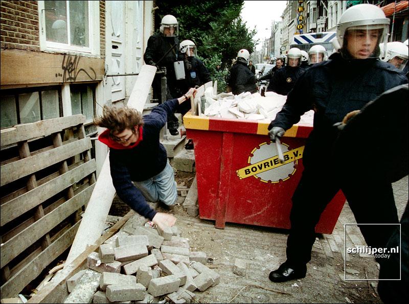 Nederland, Amsterdam, 9 februari 2002