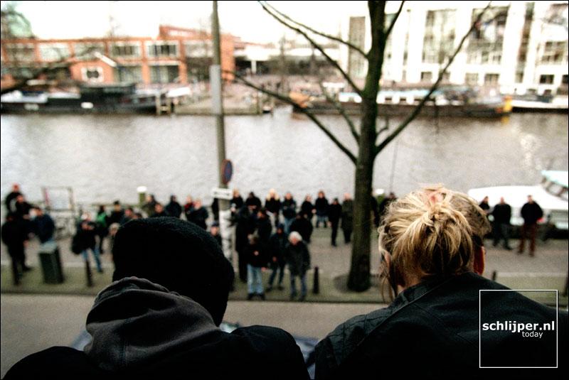 Nederland, Amsterdam, 10 februari 2002