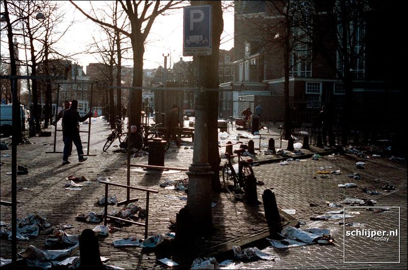 Nederland, Amsterdam, 18 februari 2002