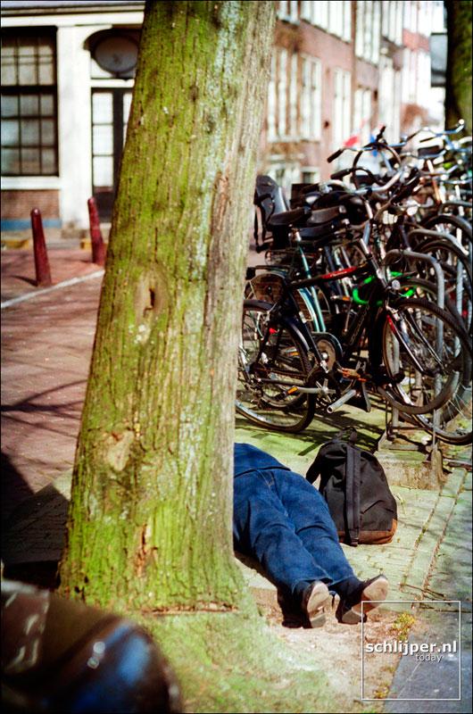 Nederland, Amsterdam, 5 april 2002