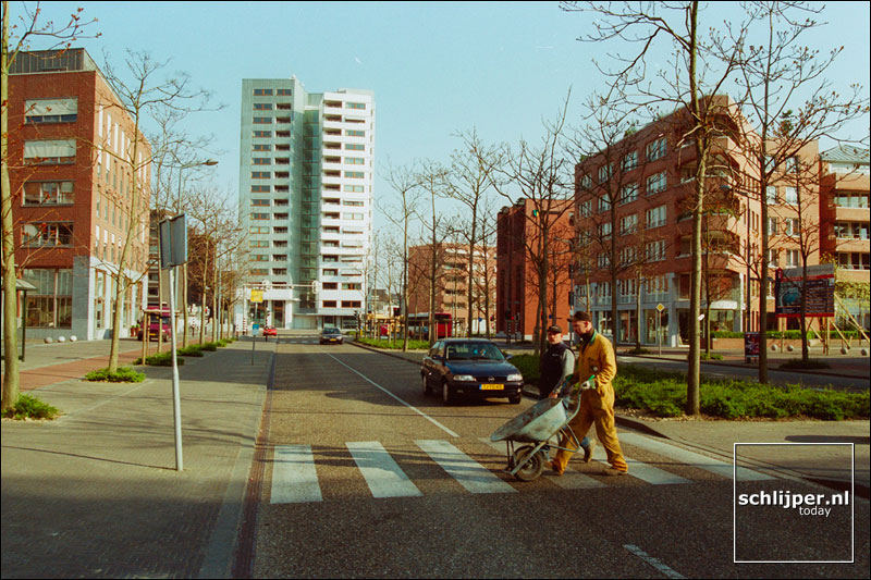 Nederland, Maastricht, 9 april 2002