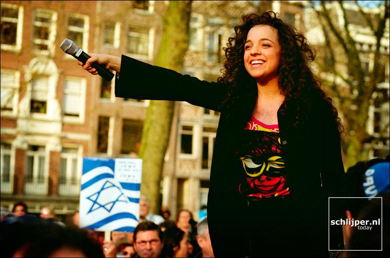 Nederland, Amsterdam, 21 april 2002