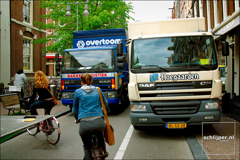 Nederland, Amsterdam, 24 april 2002