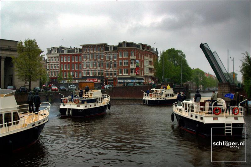Nederland, Amsterdam, 5 mei 2002