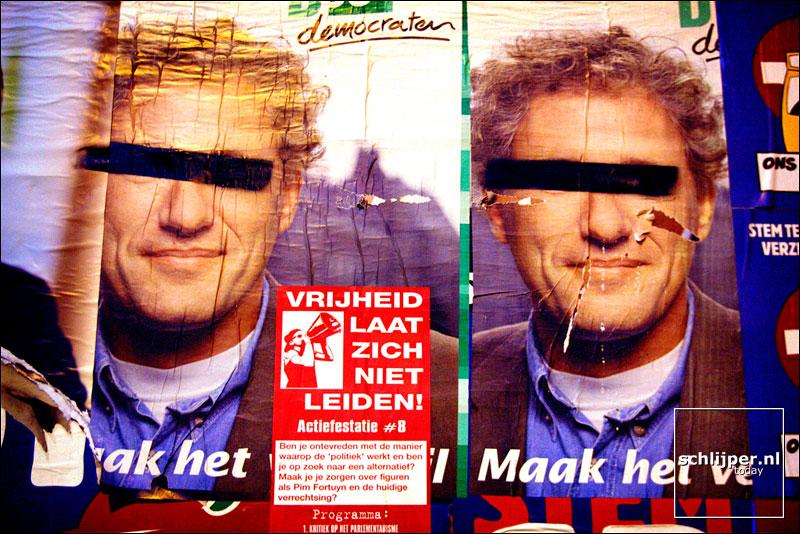 Nederland,  Amsterdam, 13 mei 2002