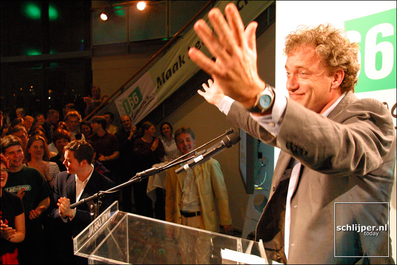 Nederland,  Amsterdam, 15 mei 2002