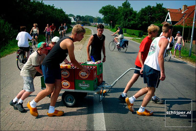 Nederland, Terschelling, Midlands, 28 juli 2002