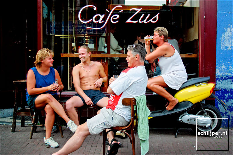 Nederland, Amsterdam, 18 augustus 2002